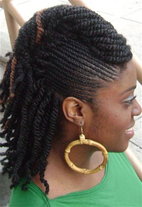 hairstyle with rolls overlaps and braids twists braids with roll hairstyle side flats