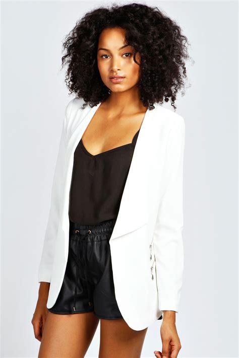 Tania Blazer trench coat