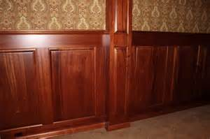 Wood Grain Wainscoting Mahogany Wainscoting Wood Wainscoting Stained