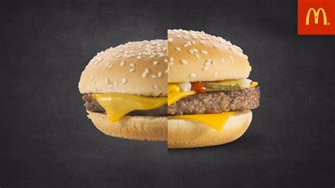Beef Burger By Macd mcdonald s photo advertising vs real burgers