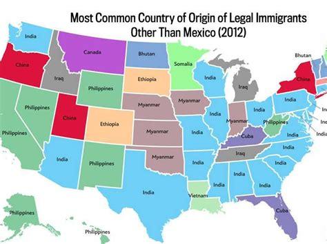 maps    biggest immigrant groups