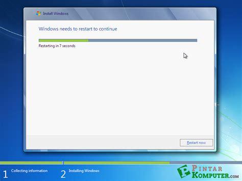 tutorial instal ulang windows 7 dengan cd panduan lengkap instal ulang windows 7 computer atau