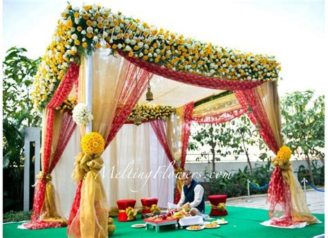 Home Lawn Decoration tips for beautiful mandap decoration wedding decorations