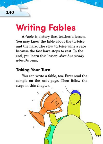 writing a fable template choice image templates design ideas