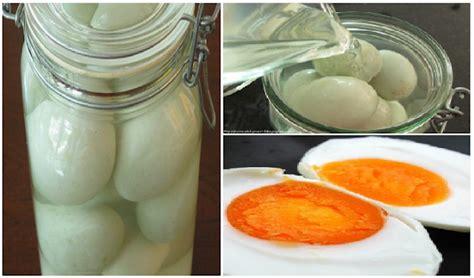 cara membuat telur asin praktis cara paling praktis membuat telur asin kaya gizi hanya