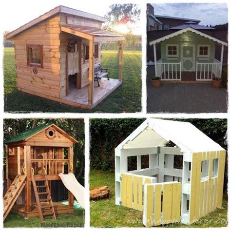 construire une cabane pour les enfants la cour des petits