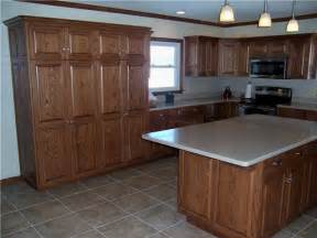 Knotty Hickory Kitchen Cabinets red oak cabinet inspirations reeds custom cabinets