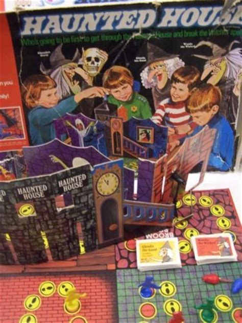 haunted house board game rare vintage 1971 boxed haunted house board game by denys fisher toys haunted houses