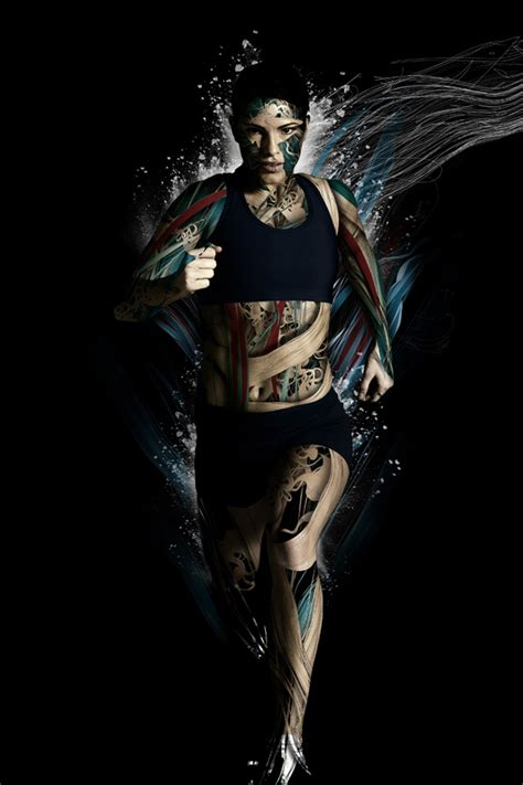 Kaos Fitness World Graphic 6 20 sports illustrations psdfan