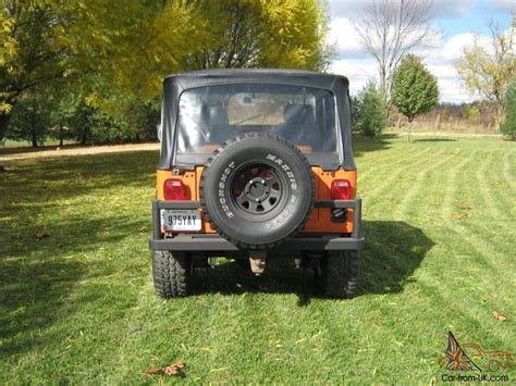1988 Jeep Wrangler Transfer 1988 Jeep 4 X 4 With 4 2 Six Cylinder Engine 5 Speed