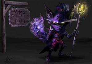 veigar the tiny master of evil redesign lol by snook 8