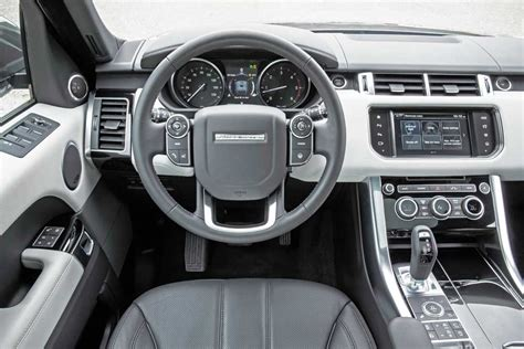 land rover interior 2016 range rover td6 and range rover sport td6