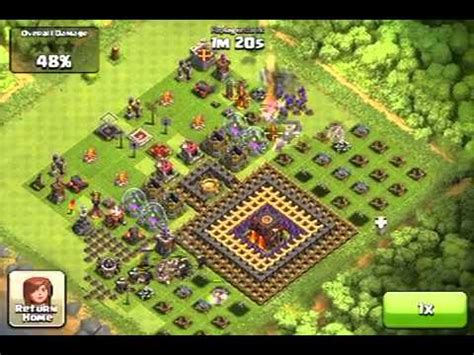 coc nazi layout clash of clans ep 16 nazi clashers weird base desi