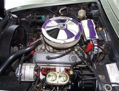 engine rebuild  replacement  corvette restoration guide
