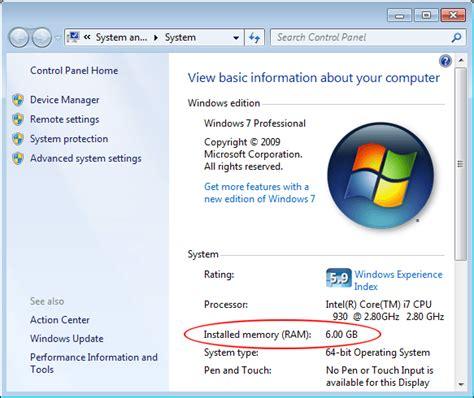 windows 7 64 bit 8gb ram fix the maximum amount of memory usable by windows 7 64 bit