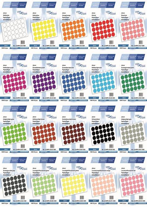 Etiketten Rund 50 Mm F R Laserdrucker by Markierungspunkte Klebepunkte 30mm Rund Aus Papier
