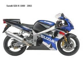 Suzuki Gsxr 2002 2002 Suzuki Gsx R 1000 Pics Specs And Information