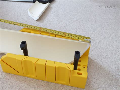 Mitre Box Cornice Coving Crown Moulding For Dummies Life In Eight