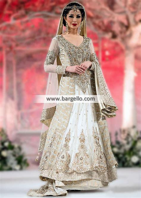 Amazing Off White Bridal Lehenga Indian Pakistani Designer Wedding Lehenga D4650 Bridal Wear