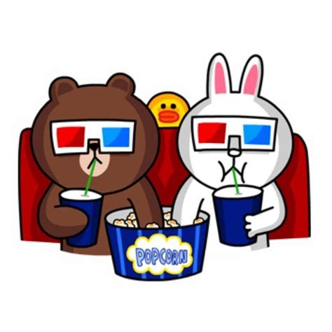 Kaos Line Emoticon Brown 17 17 best images about cony brown on