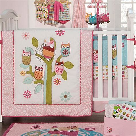 baby girl owl crib bedding baby crib bedding owl home design ideas