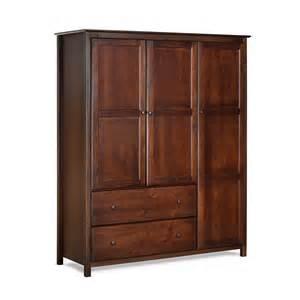 What Is Armoire Furniture Grain Wood Furniture Armoire Reviews Wayfair