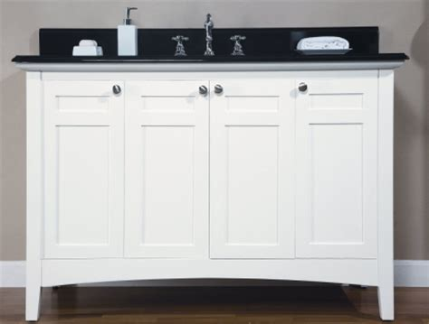 shaker style bathroom cabinets 48 inch single sink shaker style bathroom vanity with