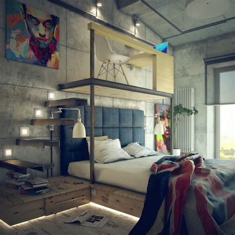 loft style bedroom bedroom interior design loft bedroom house interior