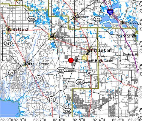 williston florida map williston highlands