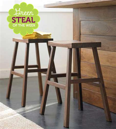 green steal of the week bamboo counter stools