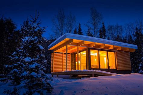 buy house in quebec gorgeous chalet quot parkitecture quot courtesy of the quebec government tiny house for