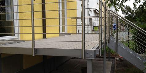 stahlgestell für holz balkone balkon 209