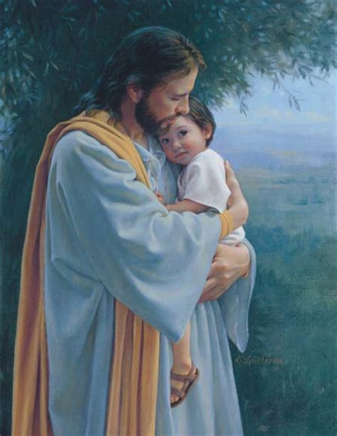 imagenes de jesus cargando un bebe be confident because the lord is good sermon for