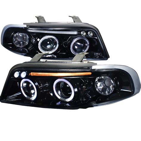 led len außen 96 99 audi a4 s4 eye halo led projector