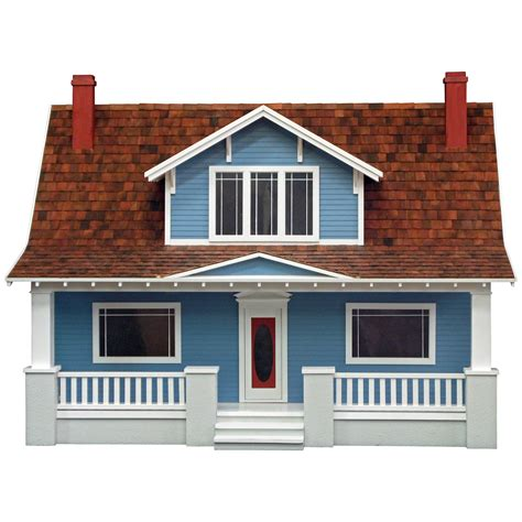 Real Good Toys Classic Bungalow Dollhouse Collector Dollhouse Kits At Hayneedle