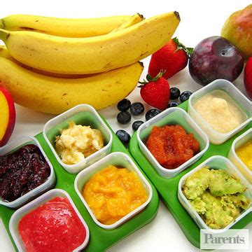 vegetables 4 months baby how to make fruit purees for babies