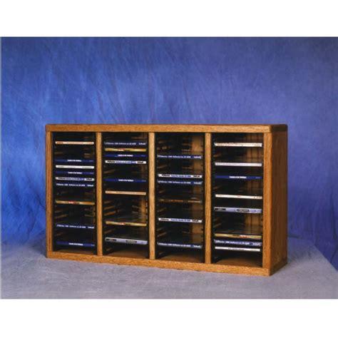 Cd Storage Racks by Wood Shed Solid Oak Cd Rack Tws 409 1