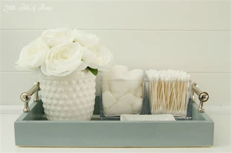 bathroom vanity trays a morning cup of joe diy projects recipe linky