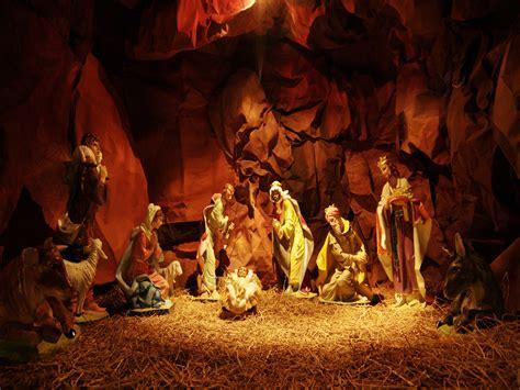 christmas nativity scene wallpaper 183 download free hd