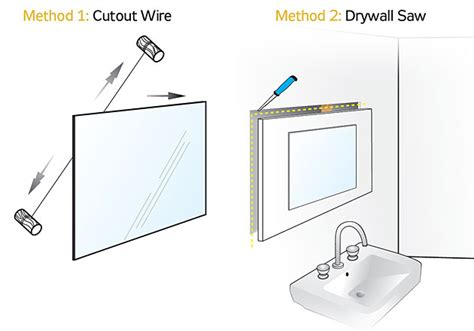 how to remove mirror in bathroom how to remove a wall mirror diy weekend project