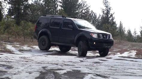lifted nissan pathfinder lifted r51 pathfinder offroad youtube