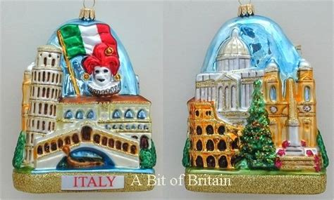 italian themed christmas ornaments