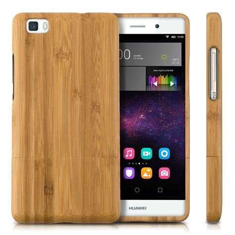 Casing Hp Huawei P8 Lite How To Your Custom Hardcase Cove kwmobile wood cover for huawei p8 lite 2015 bamboo back ebay