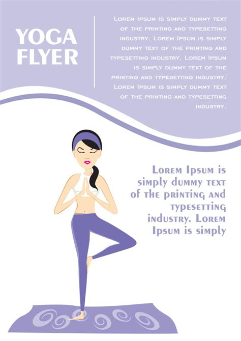 templates for yoga flyers 20 distinctive yoga flyer templates free for professionals