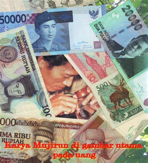 Uang Kuno Dua Puluh Ribu Rupiah Th 1998 pelukis soeharto bapak pembangunan di uang rp50 ribu money id