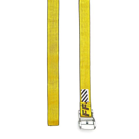 Reps White C O Virgil Abloh Industrial Belt 150 Cm With D Ring white c o virgil abloh industrial belt in yellow for lyst