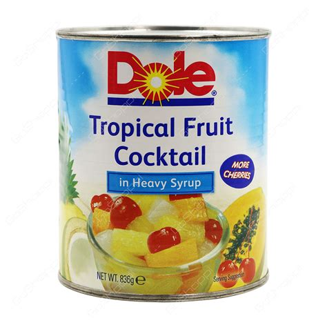 Tropical Fruit Cocktail Dole buy cans jars products from apsara supermarket