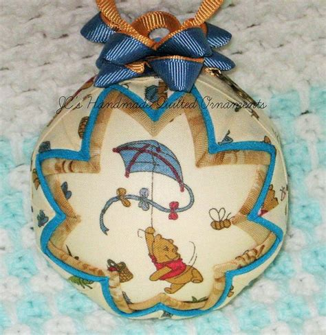 Handmade Baby Ornaments - 37 best images about quilted ornament baby on