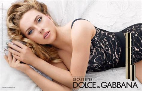 secret commercial photographer actress scarlett johansson as the face of dolce gabbana s the