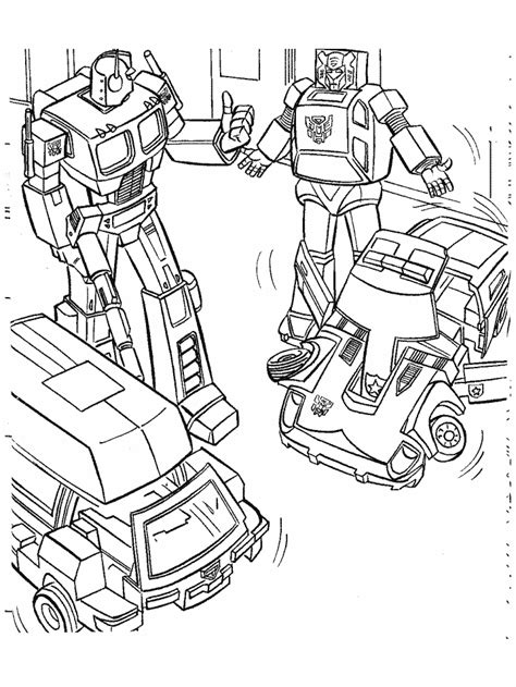 Transformers 5 Coloring Pages by Transformers Coloring Pages Optimus Prime Coloring Home